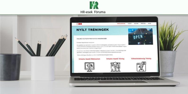 Vezetői webináriumok a HR-esek Fóruma ajánlásával
